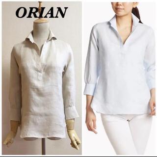 オリアン(ORIAN)のORIAN  リネンスキッパーシャツ(シャツ/ブラウス(長袖/七分))