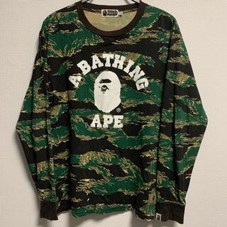アベイシングエイプ(A BATHING APE)のBAPE ロンT(Tシャツ/カットソー(七分/長袖))