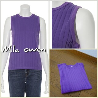ミラオーウェン(Mila Owen)のMila owen*°リブタンク(タンクトップ)