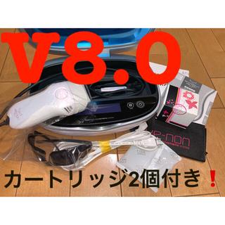 Panasonic - ✨値下げ✨ケノン kenon 脱毛器 8.0 本体 カートリッジ2個付き