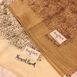 MARGARET HOWELL - マーガレットハウエル スカーフ 2枚