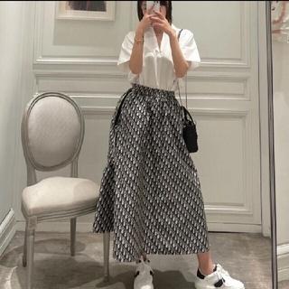 Christian Dior - クリスチャンディオールトロッター柄スカート