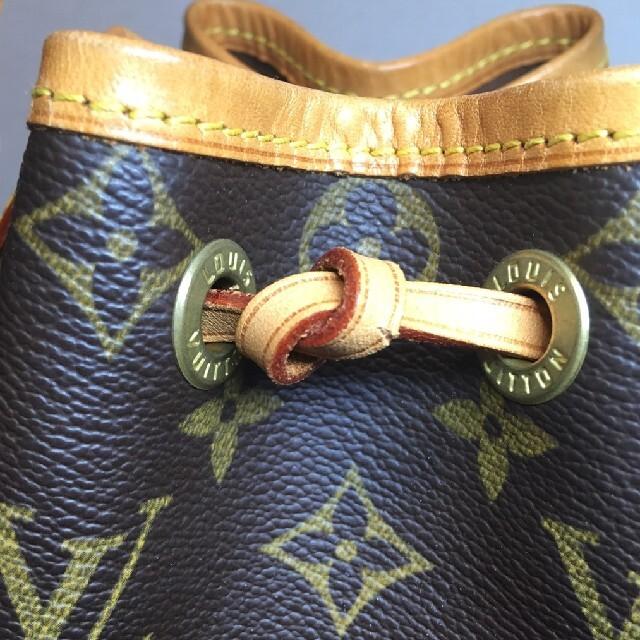 LOUIS VUITTON(ルイヴィトン)の美品 ルイヴィトン モノグラム ミニ ノエ レディースのバッグ(ハンドバッグ)の商品写真