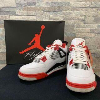 """ナイキ(NIKE)のNIKE Air Jordan 4 OG """"Fire Red""""(スニーカー)"""