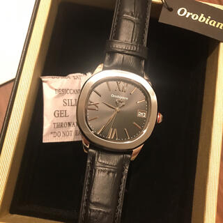 Orobianco - 【新品】Orobianco オロビアンコ メンズ 本革 レザー 腕時計 箱付き
