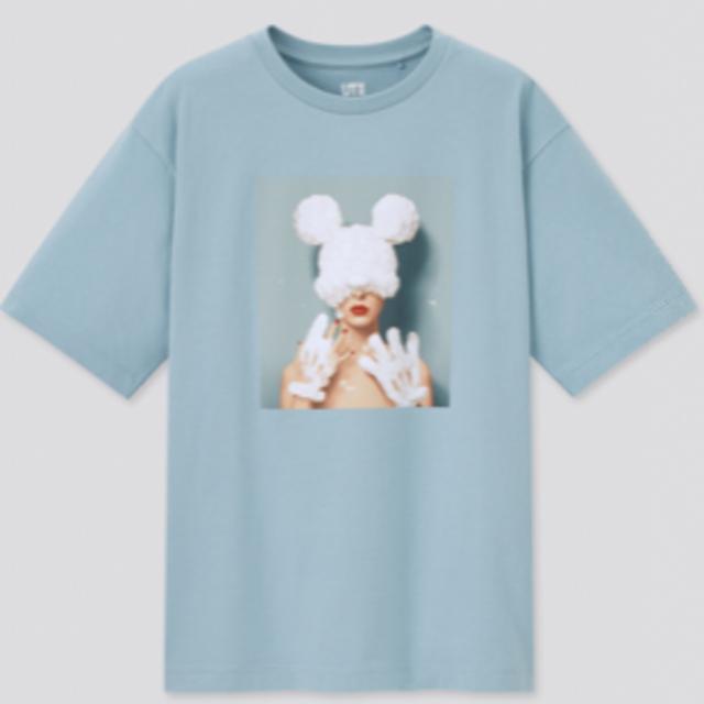 UNIQLO(ユニクロ)のポストカードのおまけ1枚付き!ユニクロ ディズニーコラボ 吉田ユニ  レディースのトップス(Tシャツ(半袖/袖なし))の商品写真
