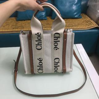 Chloe ショルダーバッグ トートバッグ 茶色
