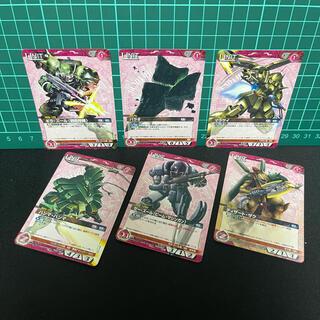 バンダイ(BANDAI)の4)【バラ売り不可】6/ GWN カード まとめ売り(シングルカード)