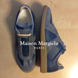 マルタンマルジェラ(Maison Martin Margiela)の新品 42 マルジェラ 21ss ジャーマントレーナー ネイビー系 684(スニーカー)