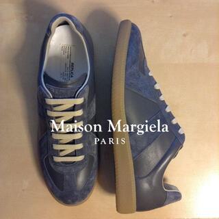 マルタンマルジェラ(Maison Martin Margiela)の新品 42 マルジェラ 21ss ジャーマントレーナー グレー 684(スニーカー)