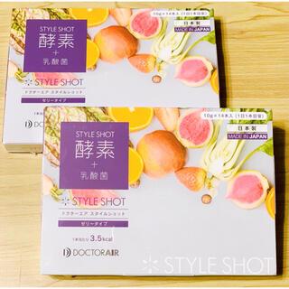 ドリームファクトリ ドクターエア  スタイルショット ゼリー  2箱(計28包)(ダイエット食品)