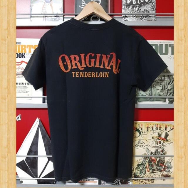 TENDERLOIN(テンダーロイン)のTENDERLOIN HELL ON WHEELS ホイールウィングTシャツ メンズのトップス(Tシャツ/カットソー(半袖/袖なし))の商品写真