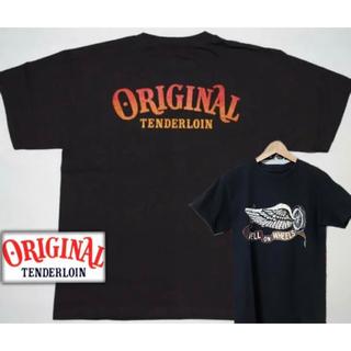 TENDERLOIN - TENDERLOIN HELL ON WHEELS ホイールウィングTシャツ