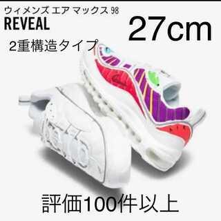 """ナイキ(NIKE)の【即発送】NIKE WMNS AIR MAX 98 LX """"REVEAL"""" 27(スニーカー)"""
