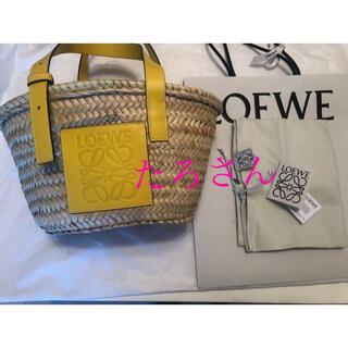 ロエベ(LOEWE)のロエベ  三越伊勢丹購入 LOEWE  Sサイズ  かごバッグ(かごバッグ/ストローバッグ)