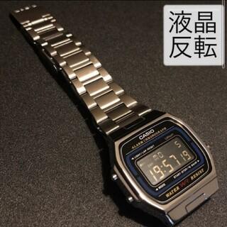 CASIO - 【新品】カシオ CASIO チープカシオ a164w 腕時計 カスタム 液晶反転