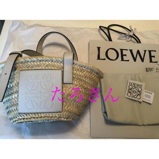 ロエベ(LOEWE)のロエベ  LOEWE公式オンライン購入  ホワイト Sサイズ  かごバッグ(かごバッグ/ストローバッグ)