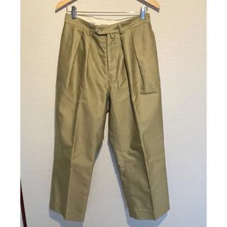 COMOLI - 【NEAT】GIZA Moleskin Wide Pants