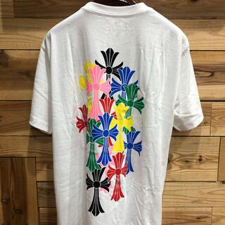 クロムハーツ(Chrome Hearts)のchromehearts セメタリ-マルチカラーTシャツLサイズ(Tシャツ/カットソー(七分/長袖))