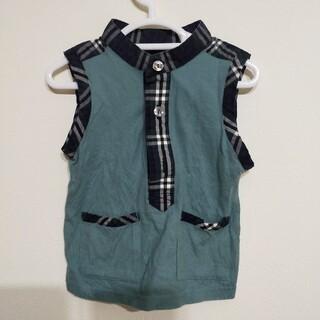 キムラタン(キムラタン)のキムラタン ノースリーブ トップス 80cm キッズ ベビー こども服(Tシャツ)