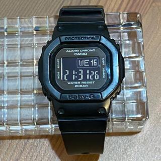 ベビージー(Baby-G)のBaby-G ブラック 腕時計(腕時計)
