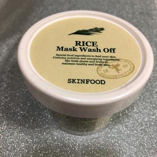 スキンフード RICE Mask Wash Off(パック/フェイスマスク)