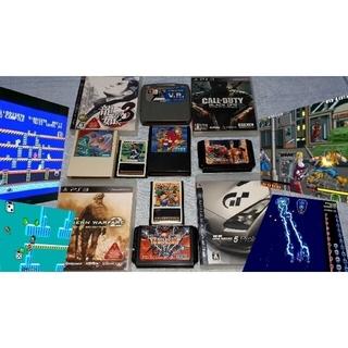 セガ(SEGA)のセガマークIIIセガSG1000メガドライブPS3まとめて(家庭用ゲームソフト)