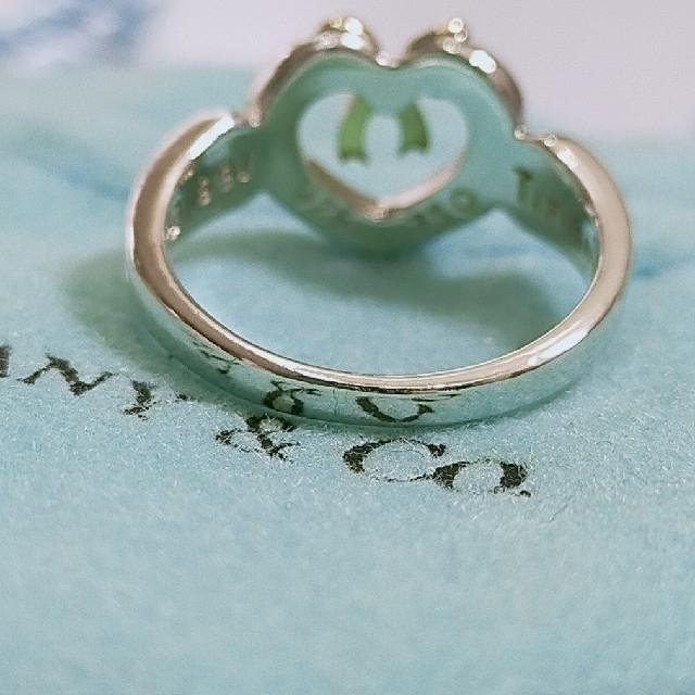 Tiffany & Co.(ティファニー)のティファニー ハートウィズボゥリング 8号 レディースのアクセサリー(リング(指輪))の商品写真