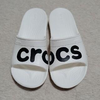 crocs - 【美品】クロックス シャワーサンダル サンダル