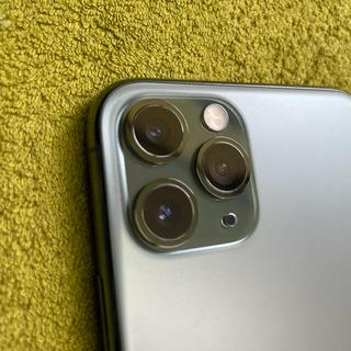 iPhone - 【即発送】【美品】iPhone 11 Pro(64GB/ミッドナイトグリーン)