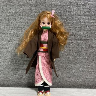 リカちゃん 着せかえ服 ハンドメイド 麻の葉 禰󠄀豆子(その他)