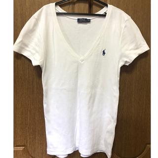 ポロラルフローレン(POLO RALPH LAUREN)のラルフローレン Tシャツ レディース Lサイズ(Tシャツ(半袖/袖なし))