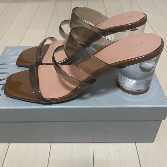 snidel(スナイデル)のsnidel スナイデル クリア サンダル レディースの靴/シューズ(サンダル)の商品写真