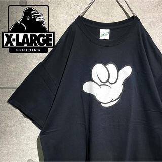 XLARGE - XLARGE エクストララージ ディズニー 未使用 コラボ オーサイズ Tシャツ