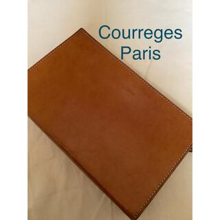 Courreges - Courreges ヴィンテージクレージュの本革セカンドバッグ