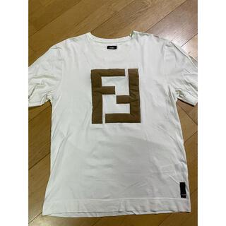 FENDI - FENDI フェンディ フェルトロゴ Tシャツ