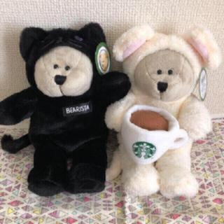 スターバックスコーヒー(Starbucks Coffee)のスタバ ベアリスタ ぬいぐるみ⭐︎猫&ネズミセット(ぬいぐるみ)