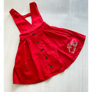 エフオーキッズ(F.O.KIDS)のALGY 美品アルジー130cm ジャンバースカート2WEY(スカート)
