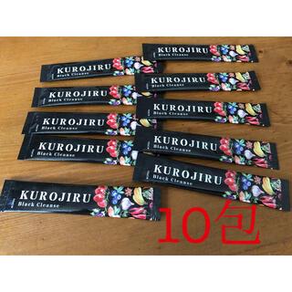 ファビウス(FABIUS)のKUROJIRU・10包(ダイエット食品)