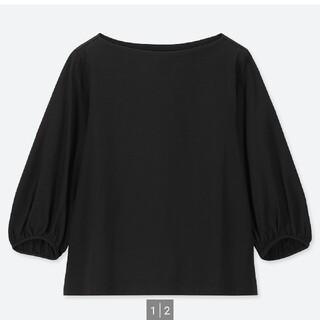UNIQLO - ユニクロ マーセライズ Tシャツ 七分袖