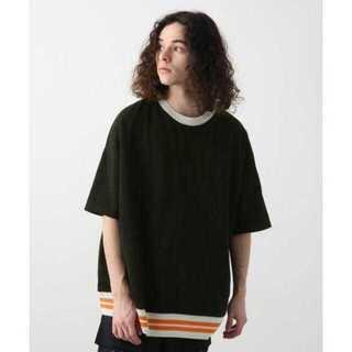 ハレ(HARE)のデザインリブカットソーSS(HARE)(Tシャツ/カットソー(半袖/袖なし))