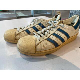 アディダス(adidas)の70s フランス製 adidas スーパースター 金ベロ(スニーカー)
