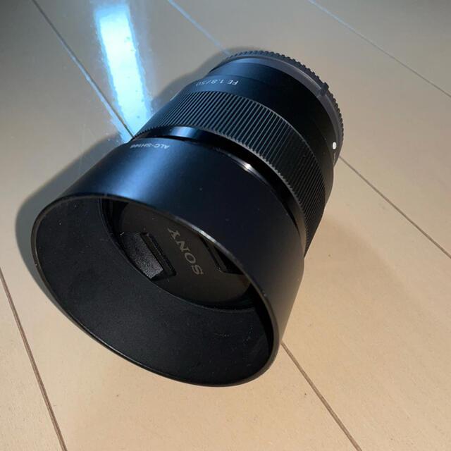 SONY(ソニー)のFE 50mm F1.8 Eマウント SONY a7シリーズ対応 スマホ/家電/カメラのカメラ(レンズ(単焦点))の商品写真