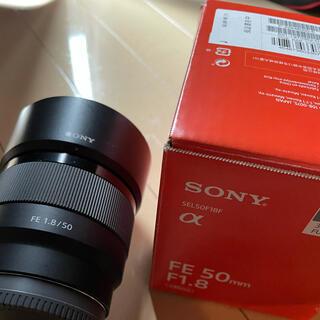 SONY - FE 50mm F1.8 Eマウント SONY a7シリーズ対応
