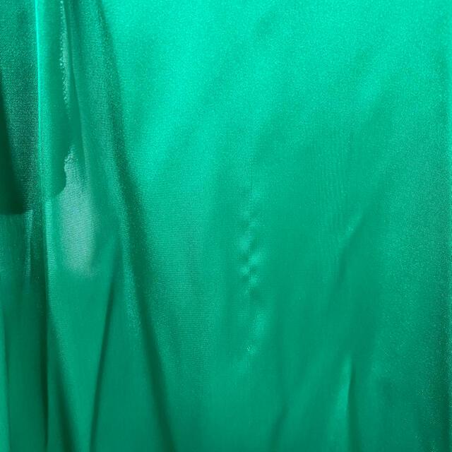 ZARA(ザラ)のZARA ブラウス グリーン XL レディースのトップス(シャツ/ブラウス(長袖/七分))の商品写真
