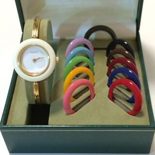 グッチ(Gucci)の8.グッチ GUCCI 時計 チェンジベゼル(腕時計)