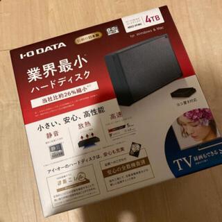 アイオーデータ(IODATA)のIODATA HDCZ-UTL4KC 外付けHDD 4TB USB3.1  (PC周辺機器)