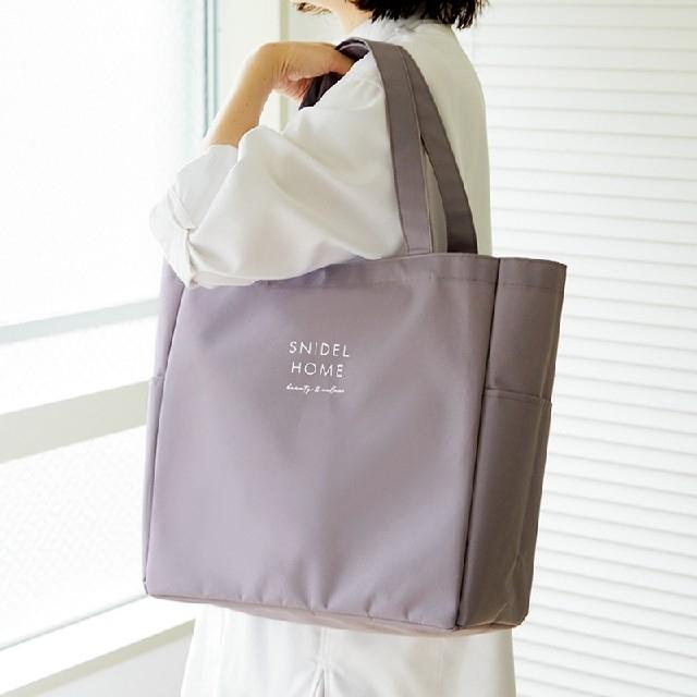 snidel(スナイデル)の& ROSY アンドロージー 7月号付録超軽量ビッグトート レディースのバッグ(トートバッグ)の商品写真