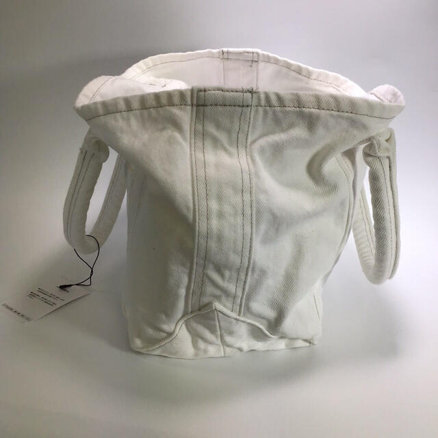 Ron Herman(ロンハーマン)の新品 ロンハーマン ☆  トートバッグ 綿ホワイト 洗濯可 レディースのバッグ(トートバッグ)の商品写真