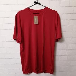 パタゴニア(patagonia)の【新品】patagonia M's Team T-Shirt メンズL 赤(登山用品)